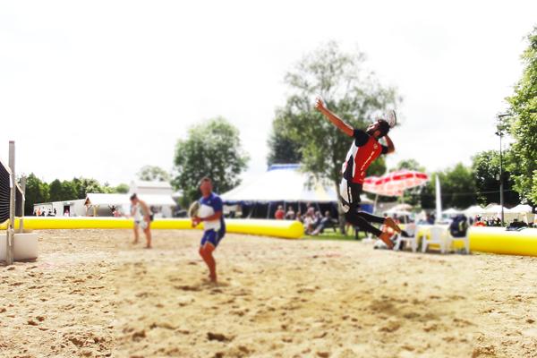 Tournoi de Beach Tennis - Samedi 16 juin 2018  - Parc de la Vesle