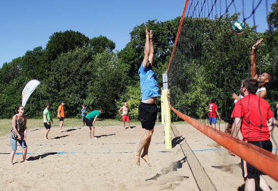 Tournoi de Beach Volley – Dimanche 17 juin 2018  – Parc de la Vesle