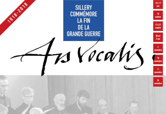 ARS VOCALIS <br>SPECTACLE/CONCERT <br>Samedi 24 novembre