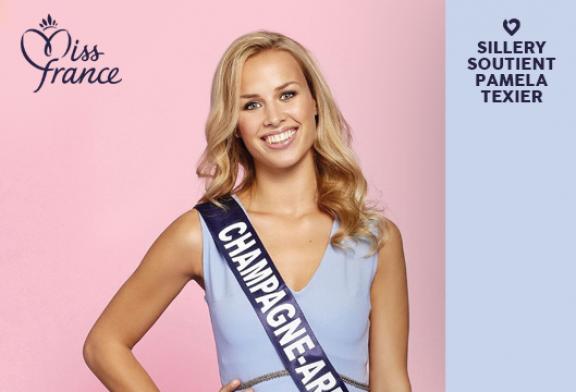 Sillery soutient Pamela <br>à l'élection de Miss France <br>le 15 décembre sur TF1