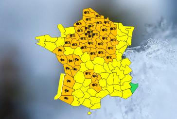 ALERTE MÉTÉO Vigilance Orange «Chutes de neige importantes et verglas». jusqu'au mercredi 30 janvier à 12h.