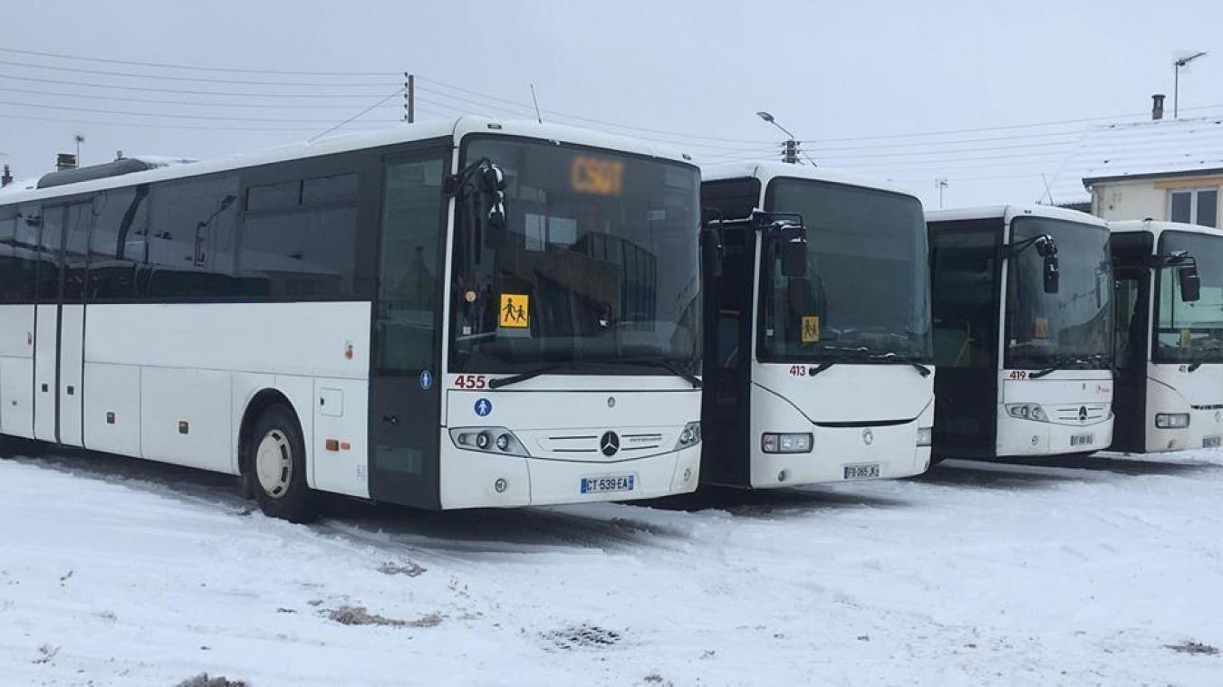 Transports scolaires annulés le mercredi 30 janvier