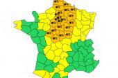 ALERTE MÉTÉO – Vigilance Orange neige/verglas – jusqu'a mardi 22 janvier 16h