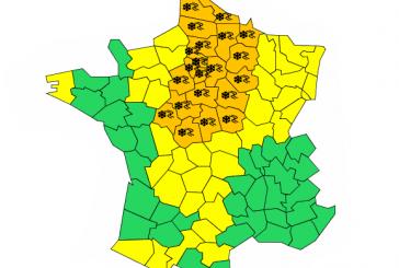 ALERTE MÉTÉO – Vigilance Orange neige/verglas – jusqu'au mercredi 23 janvier 6h