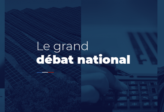 LE GRAND DÉBAT NATIONAL À SILLERY – Samedi 9 mars de 9h30 à 11h