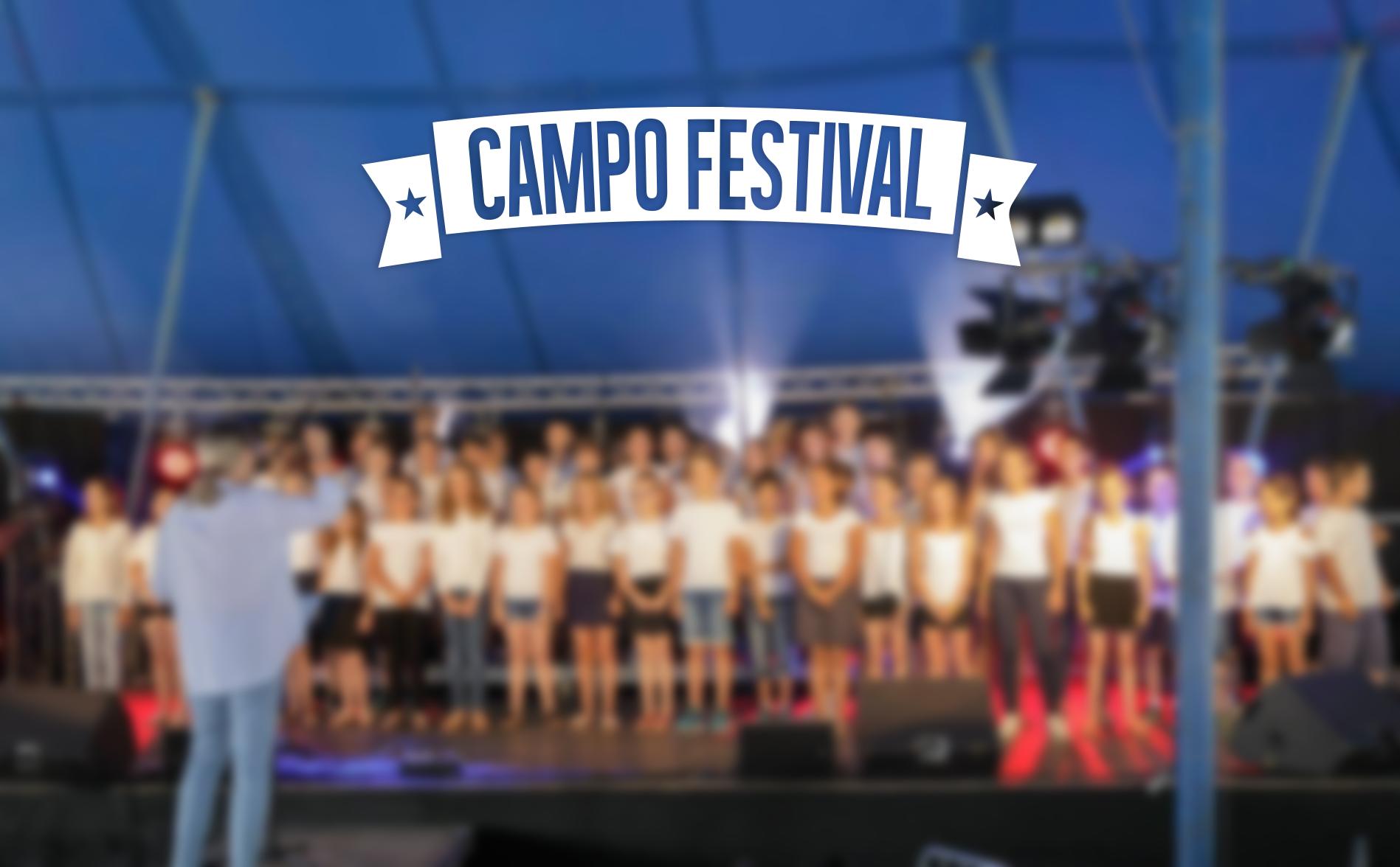 Chorale de l'école de Sillery au Campo Festival - Dimanche 30 juin à 11h