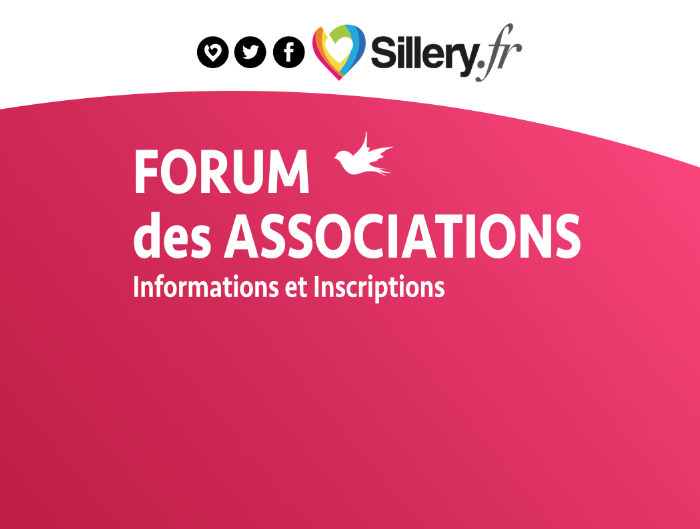 FORUM DES ASSOCIATIONS <br>Vendredi 6 septembre 2019 <br>18h - Salle des sports