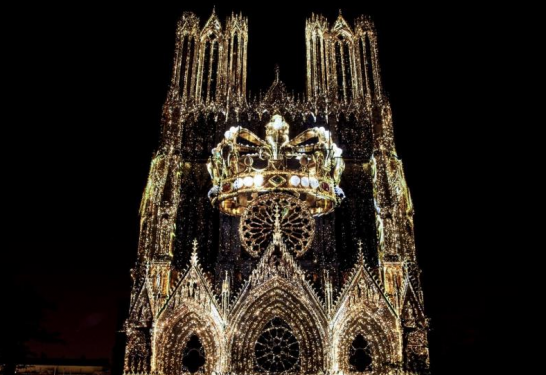1,2,3 BOUGEZ! <br>Spectacle de la cathédrale de Reims <br>Ven 20 sept