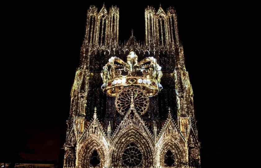 1,2,3 BOUGEZ! <br>Spectacle de la cathédrale de Reims <br>Ven 20 sept