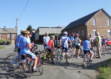 Sortie cyclotouriste - 13 octobre - Ravitaillement à Sillery