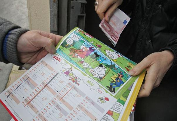Attention à la vente des calendriers