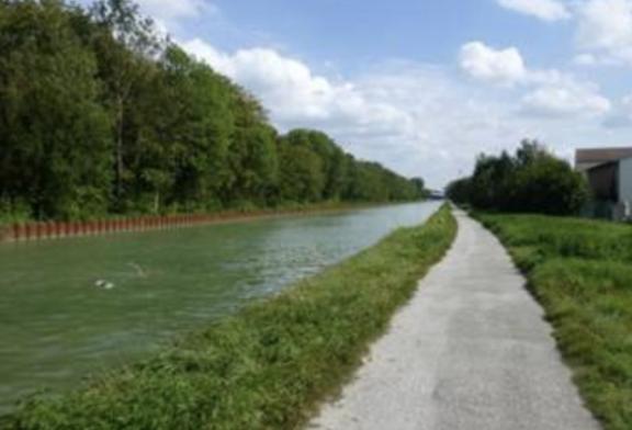 Le chemin de halage le long du canal est interdit au public - À partir du 20 mars 12h