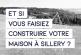 Et si vous faisiez construire votre maison à Sillery ?