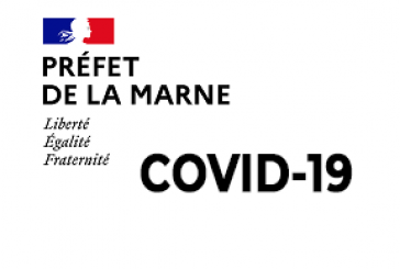 Point COVID-19 dans la Marne