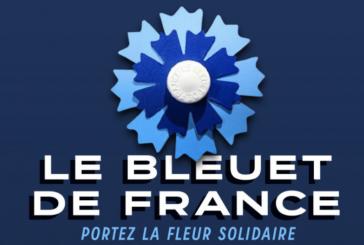Collecte Bleuet de France du 8 mai 2021